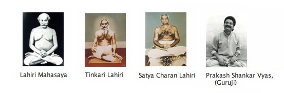 Lineage of the Kriya Yoga Gurus