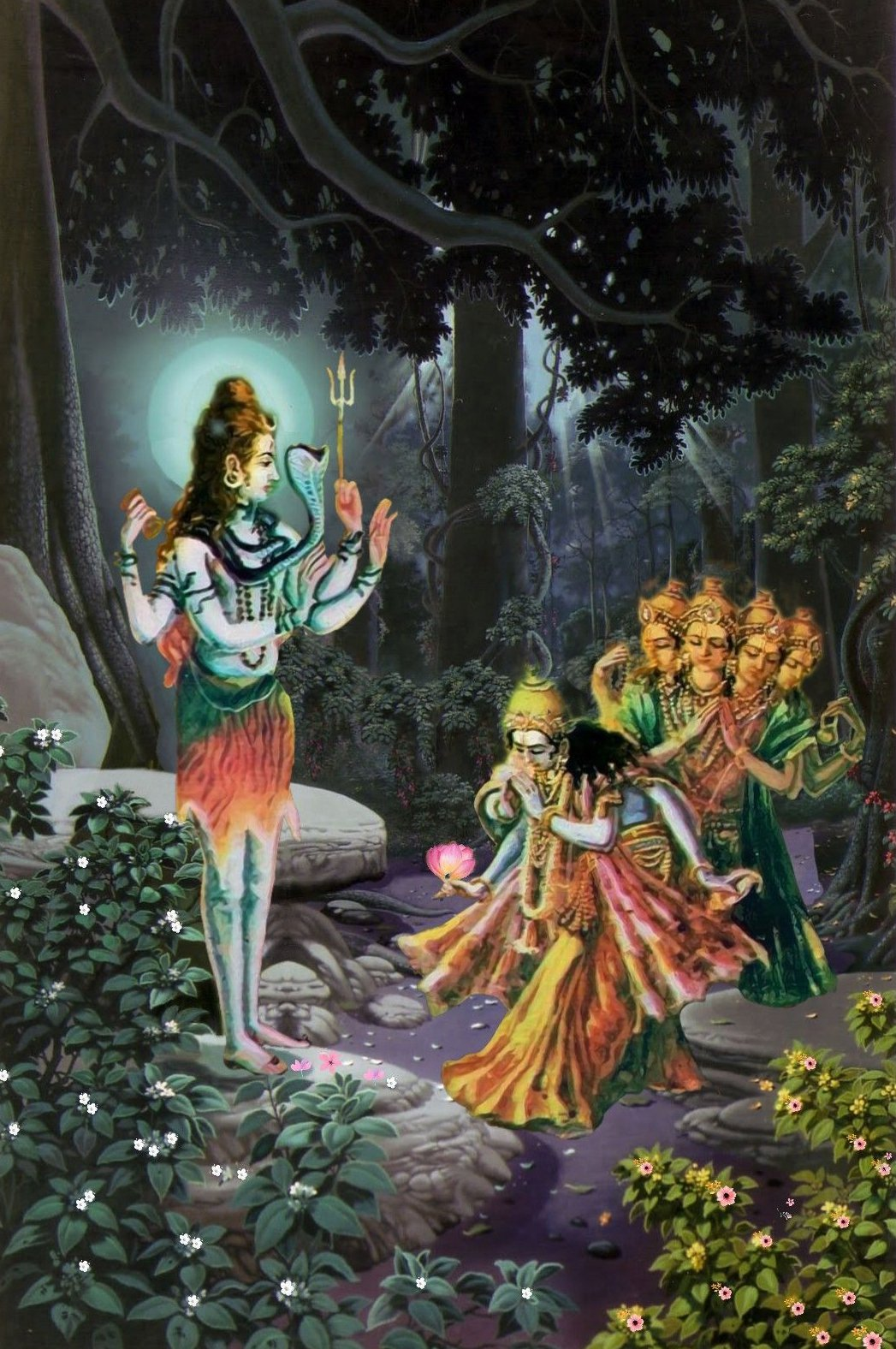 Shiva teaching